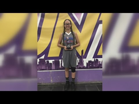 Fort Wayne 8th grader Jasmine Anderson wins Jr. NBA skills competition national championship!