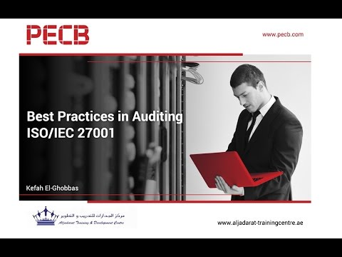 Best Practices in Auditing ISO/IEC 27001