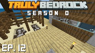 Truly Bedrock s0 e12 The mega cow farm realm killer
