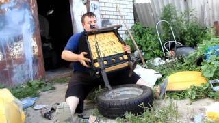 Разбор переднего сидения Лада Приора