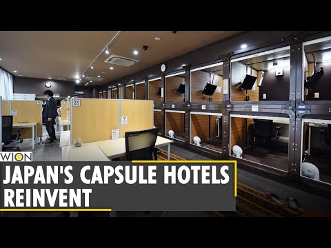 Tokyo Capsule hotel owner converts rooms into offices | Japan | World News | WION English News