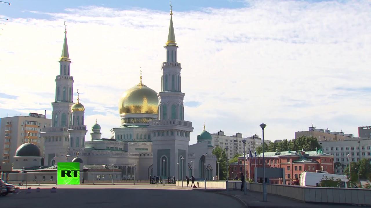 В Москве празднуют Ураза-Байрам
