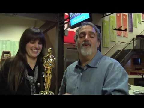 Producer Jon Landau tours Titanic exhibit