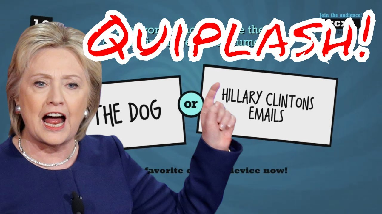 Hillary Clinton's Secret Emails! - Jackbox Party Pack