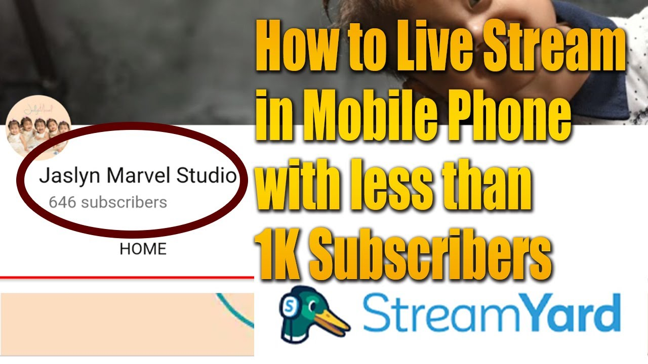 How to Live Stream on Youtube in your Mobile Phone with less than 1000 Subscribers | Youtube 2020