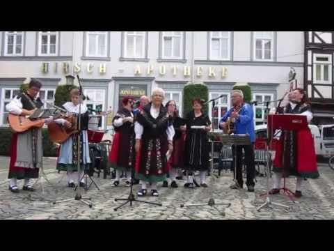 Die Okertaler in Goslar mit schönen Harzer Lieder  am Sonntag den 14.08.2016