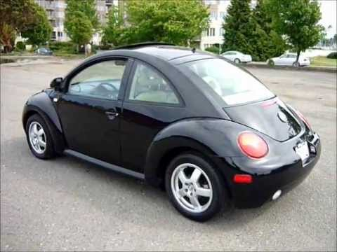 2000 volkswagen beetle gls 98,000kms. - auto - leather - 1.8t