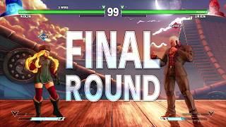 Street Fighter V: GroovyMango (Kolin) V Mr Cory Trevor (Urien) - Nemesis 43 SFV