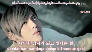 (Backup Vocals Ver.) EXO-K - What Is Love [Karaoke Subs + Instrumental + Eng]