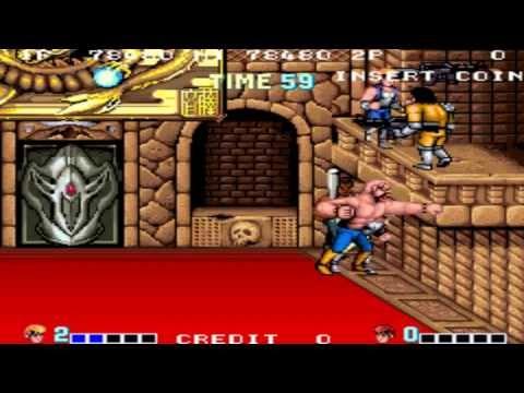Double Dragon 1 arcade gameplay playthrough longplay
