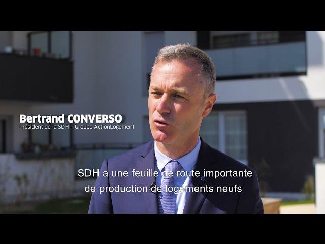 ALILA – Inauguration de D'CLIC à Pont-de-Claix– Bertrand CONVERSO – Président de la SDH  2/2