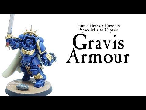How to Paint Primaris Space Marine Captain in Gravis Armour
