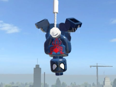 LEGO Marvel Superheroes - SPIDER-MAN 2099 FREE ROAM ...