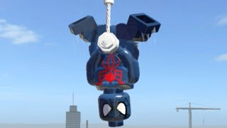 LEGO Marvel Superheroes - SPIDER-MAN 2099 FREE ROAM GAMEPLAY (MOD SHOWCASE)