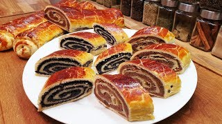 Hungarian Poppy seed and Walnut Roll - Beigli / Szoky's Kitchen