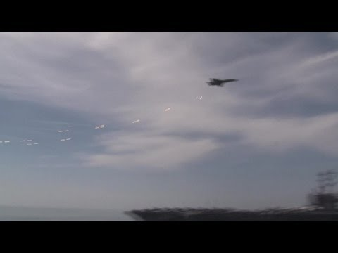 F-18 Supersonic Fly-by