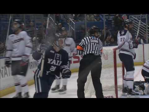 UConn vs Yale Full Highlights 1/7/17