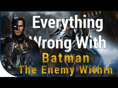 GAME SINS | Everything Wrong With Batman: The Enemy Within