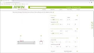 FAQ - Wie funktioniert das Auslegungstool Linearachsen? (HIWIN)