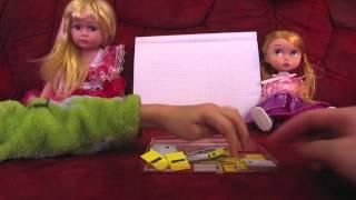 Школа Барби Урок чтения Закрепление темы Звуковая модель слова