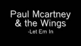 Wings Let Em In