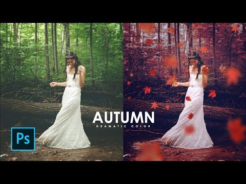 How To Create A Autumn Dramatic Color In Photoshop - Photoshop Tutorials