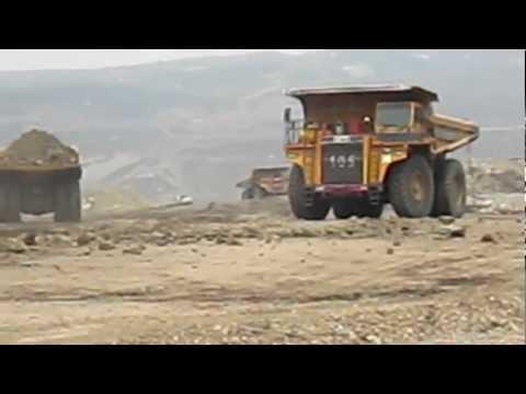 BEML 100 ton Dumper - Working at Thailand