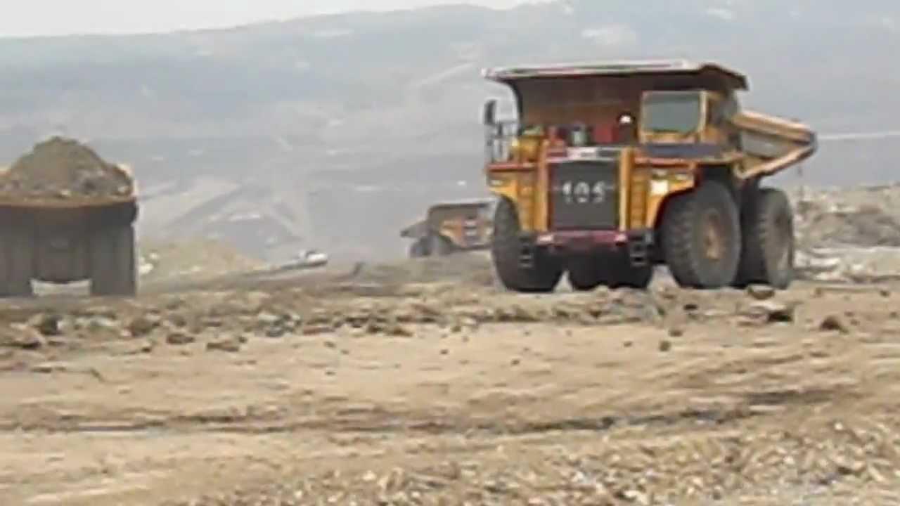 BEML 100 ton Dumper - Working at Thailand - YouTube