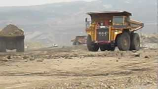 BEML 100 ton Dumper - Working at Thailand