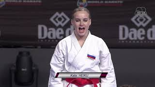 Historic final day of KARATE World Championships