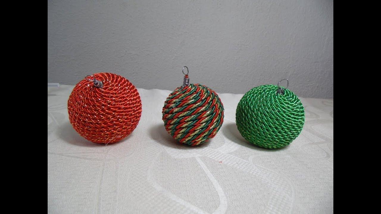 Adornos navide os para rbol de navidad youtube for Adornos navidenos origami paso a paso