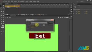 How to exit in Adobe Flash CC/ AS3