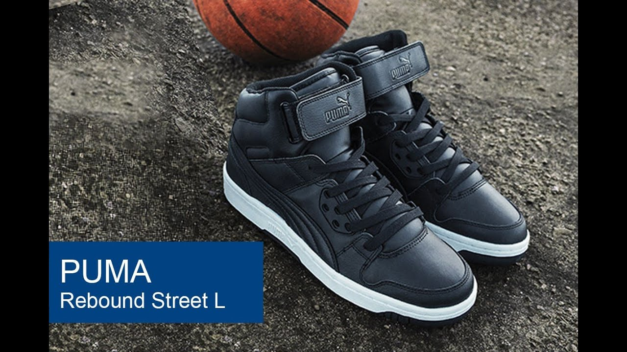 Puma Rebound Street L Black shoes online hot sale