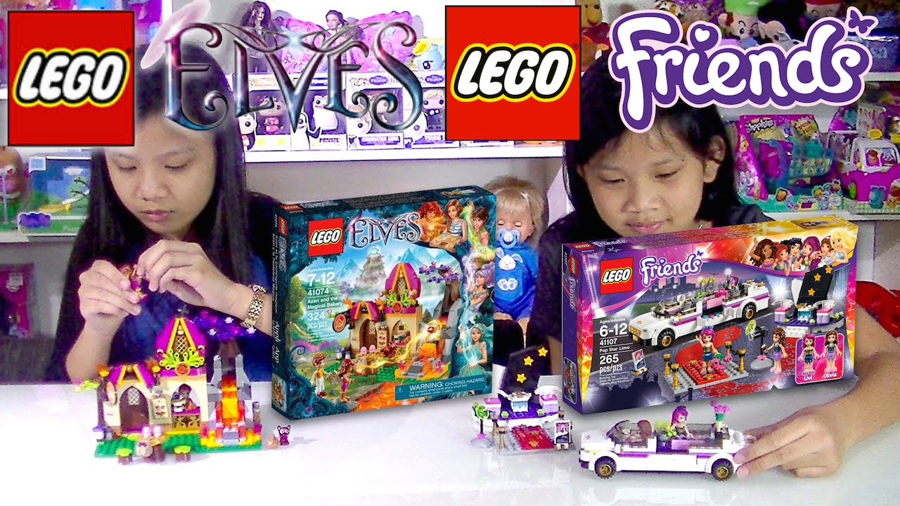 Afholte LEGO Friends 41107 and LEGO Elves 41074 - Kids' Toys - YouTube KM-97