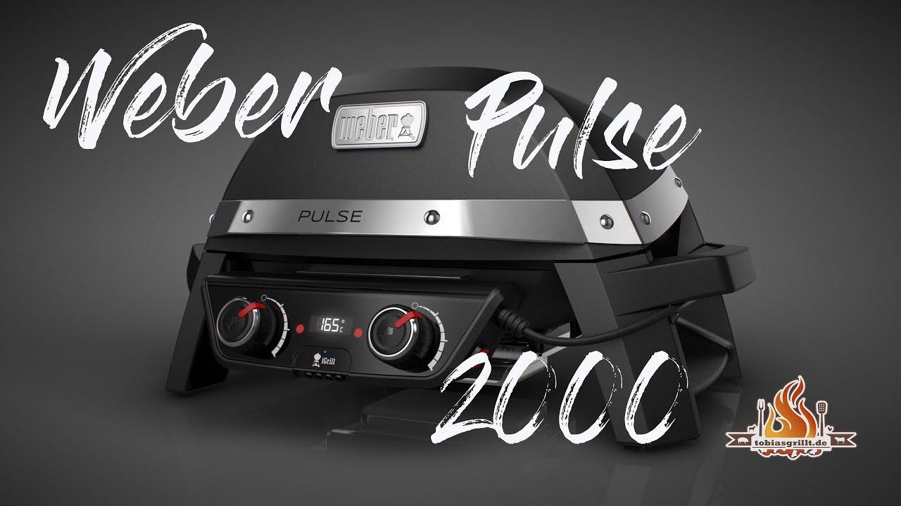 Weber Elektrogrill Lachs : Weber pulse 2000 der elektrogrill das grill und bbq erklär video