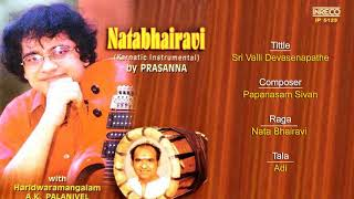 Sri valli Devasenapathe - Natabhairavi - Prasanna | Carnatic Instrumental on Guitar