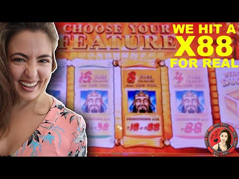 SUPER WIN! 88X Multiplier on Lucky 88 Slot! Vegas 2019!