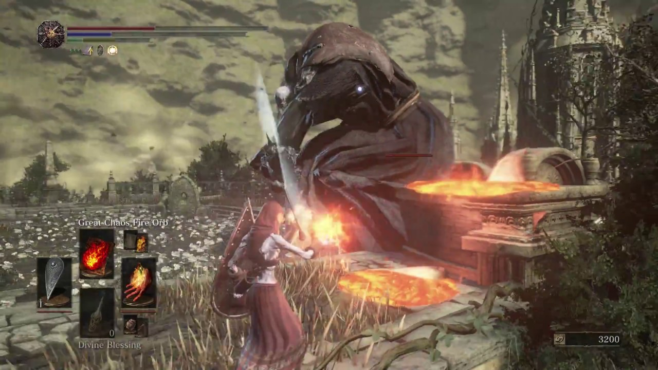 Dark Souls 3 Ringed City How to Get Past the Thousand Arrows