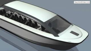 iSpeed shuttle STEALTH 380 escape Hydrofoil Power Catamarans