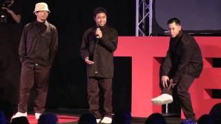 Impossible, to possible, then probable | The Jabbawockeez | TEDxIronwoodStatePrison