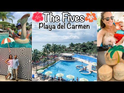PLAYA DEL CARMEN MEXICO VACATION VLOG // THE FIVES AZUL BEACH RESORT
