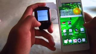 U8 Smartwatch UNBOXING & TEST (Cheapest Waterproof Smartwatch 2015)