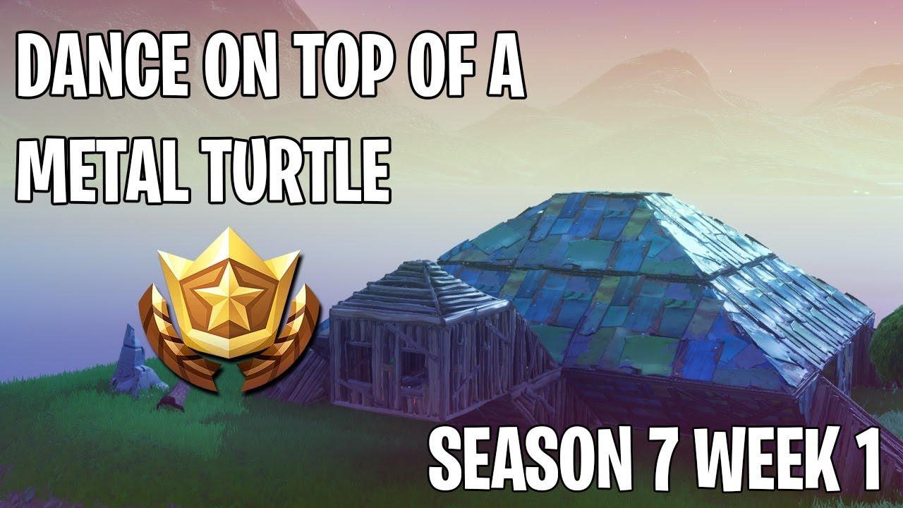 Dance On Top Of A Metal Turtle Season 7 Week 1 Challenge