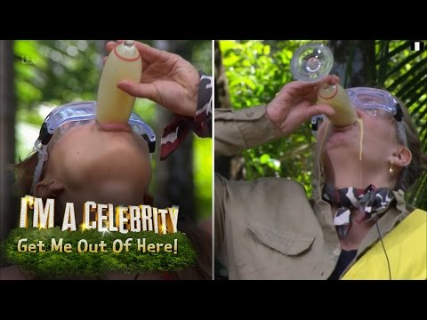 Campmates Race To Drink Blended Bug Cocktails | I'm A Celebrity... Get Me Out Of Here!