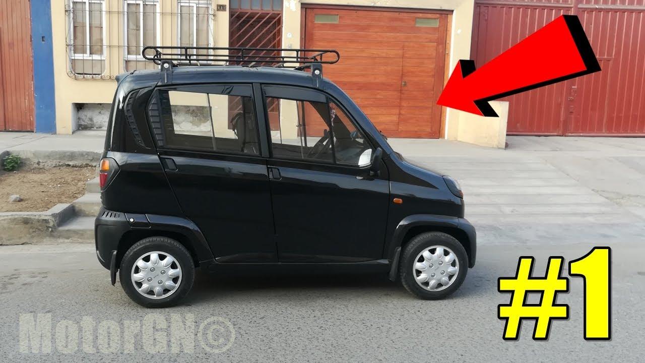 Venta De Carros En El Salvador >> REVIEW: BAJAJ QUTE R60 EN ESPAÑOL #1 | El auto más ...