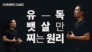 [다이어트의 CODE] 뱃살만 자꾸 쪄요. 복부지방의 원리. (feat. 운치의 CODE)