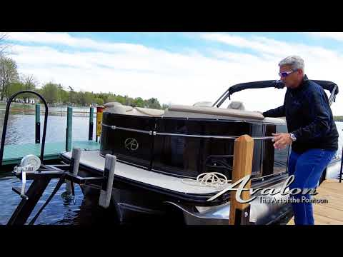 15)Pulling your boat from the water | 2017 Avalon Luxury Pontoons