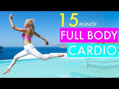 15 Minute Full Body Cardio Workout CALORIE BLAST | Rebecca Louise