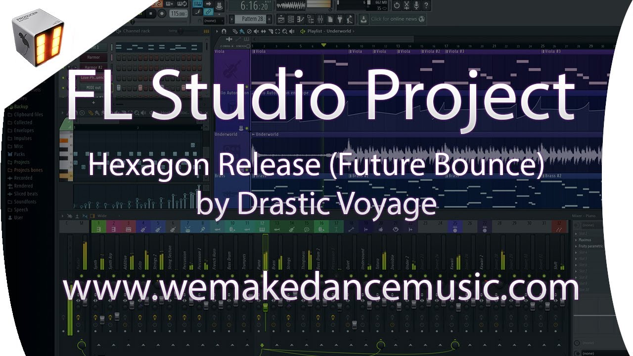 How To Make Don Diablo Style In Fl Studio Hexagon Release By Drastic Voyage