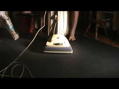 Montgomery Ward By Eureka Upright Vacuum.